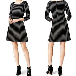 🆕️ MAISON JULES   Bow-Shoulder Fit & Flare Dress